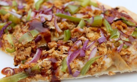 Best Ever BBQ Chicken Pizza