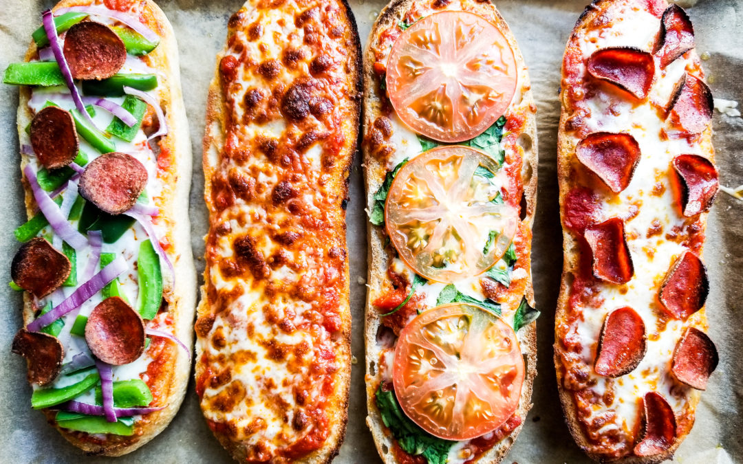 5 Minute Sheet Pan Pizzas
